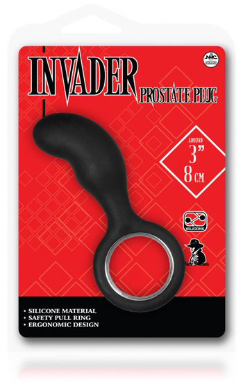Invander Prostate Plug 3 Tum