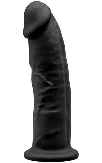 Dual Density Dildo Black 23 Cm