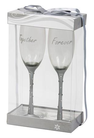 """Champagneglas """"Togheter Forever"""""""