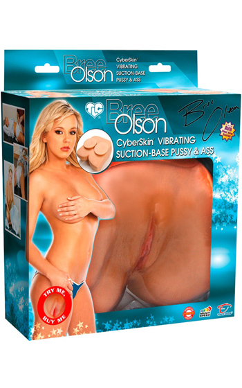 Bree Olson Vibrating Pussy & Ass