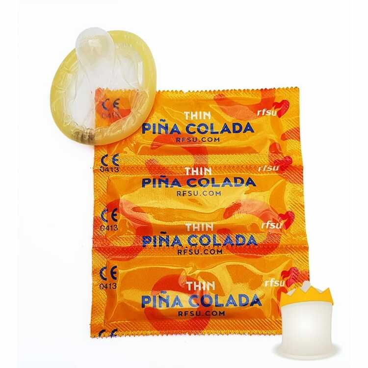 Kondomer 3-Pack Thin Pina Colada