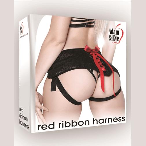 Adam & Eve Red Ribbon Harness