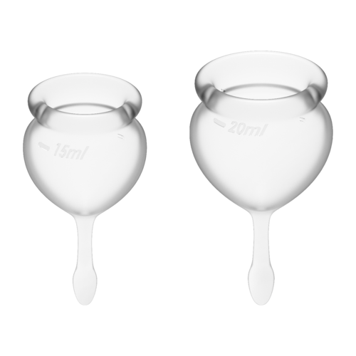 Satisfyer Feel Good Menstrual Cup Transparent
