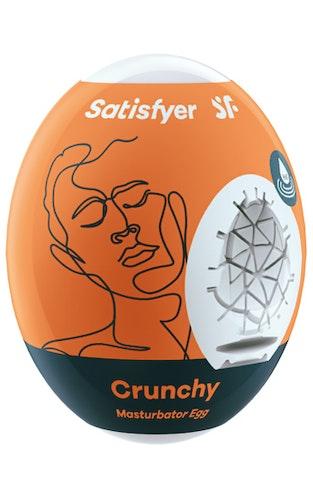 Satisfyer Masturbator Egg Crunchy