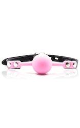 Lockable Gag Ball Pink