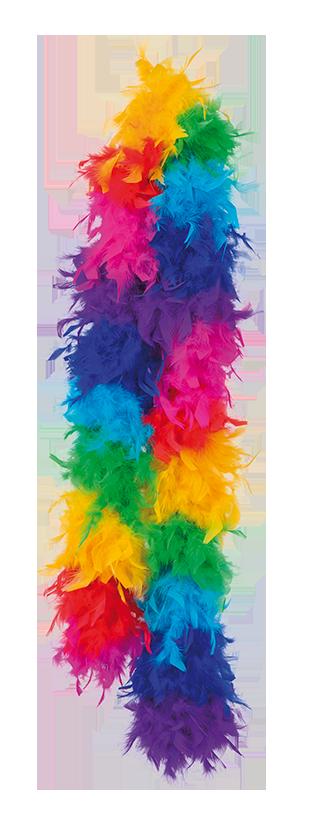 Rainbow Fjäderboa