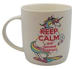 Kaffe/Te Mugg Unicorn