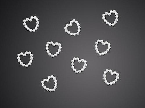 """Confettihjärtan """"Pärlor"""""""
