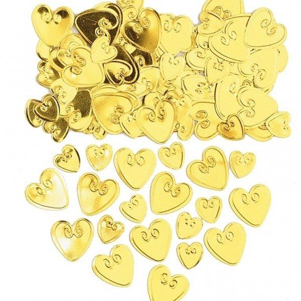 Söta Hjärtan i Guld