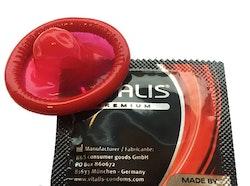 Kondom 3-Pack Jordgubbssmak