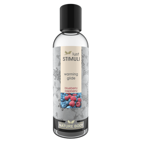 Lust Stimuli Warming Glide - Blueberry Raspberry 100ml