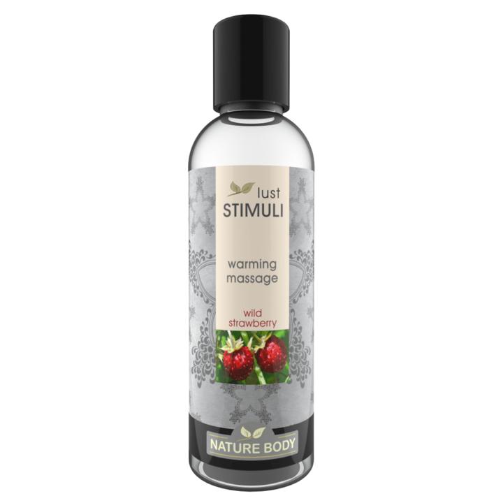 Lust Stimuli Warming Massage - Wild Strawberry 100ml