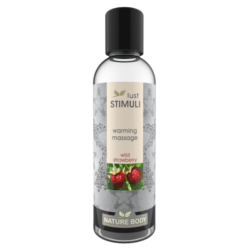 Lust Stimuli Warming Massage - Wild Strawberry 100ml