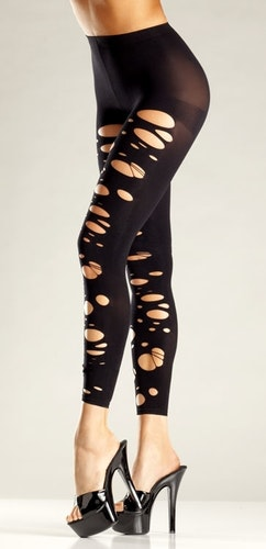 Strimlade Tights