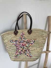 Multicoloured Star Basket