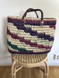 Multicoloured Beach Basket