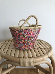 Small Colourful Sequin Basket