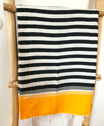 Grey & Mustard Yellow Sarong