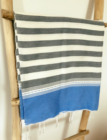 Grey & Light Blue Sarong