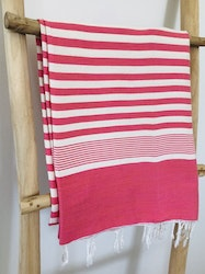 Pink and White Sarong