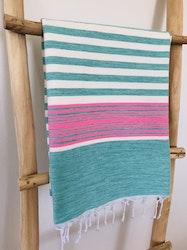 Turquoise & Pink Sarong