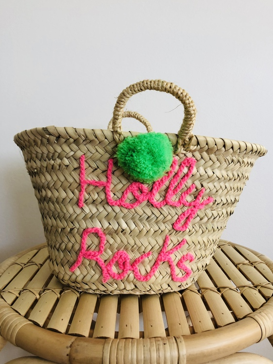 Small Personalised Basket