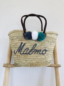 'Malmo' Beach Basket