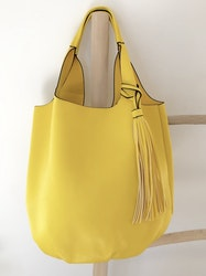 Bright Yellow 2 in 1 Totes Bag