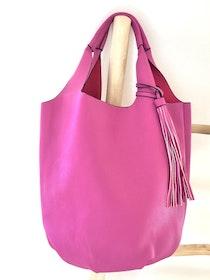 Hot Pink 2 in 1 Totes Bag