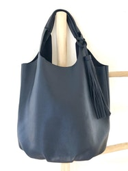 Navy Blue  2 in 1 Totes Bag