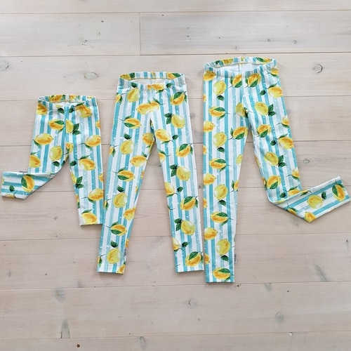 LEGGINGS MED CITRONER