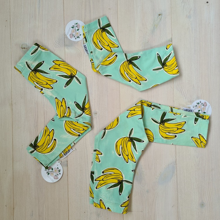 Coola leggings med bananer