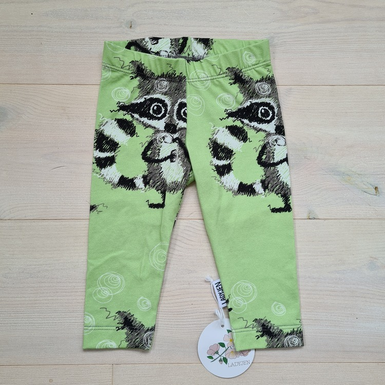 Ljusgröna leggings i storlek 62/68