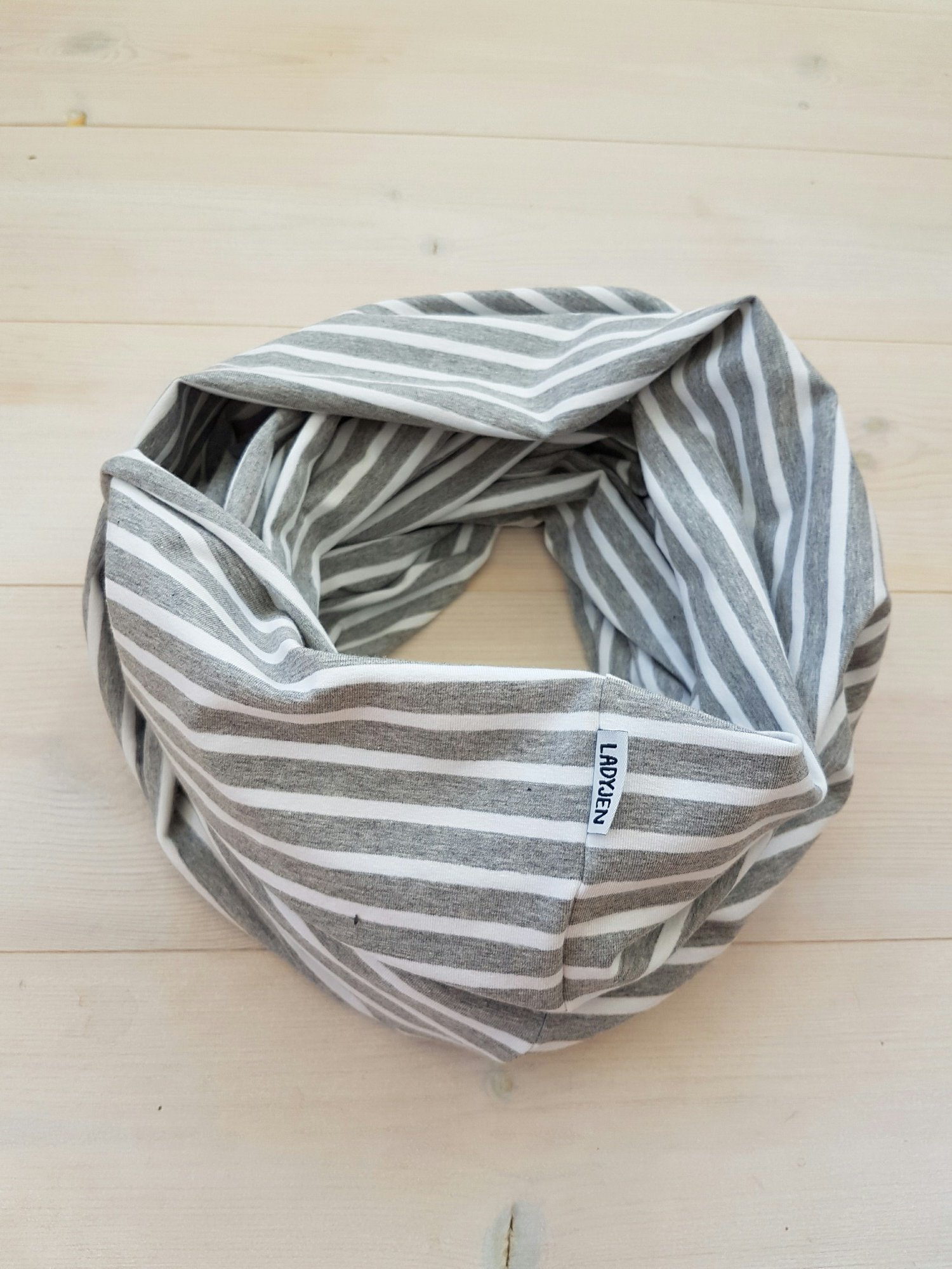TUB RANDIG - Grå/vit