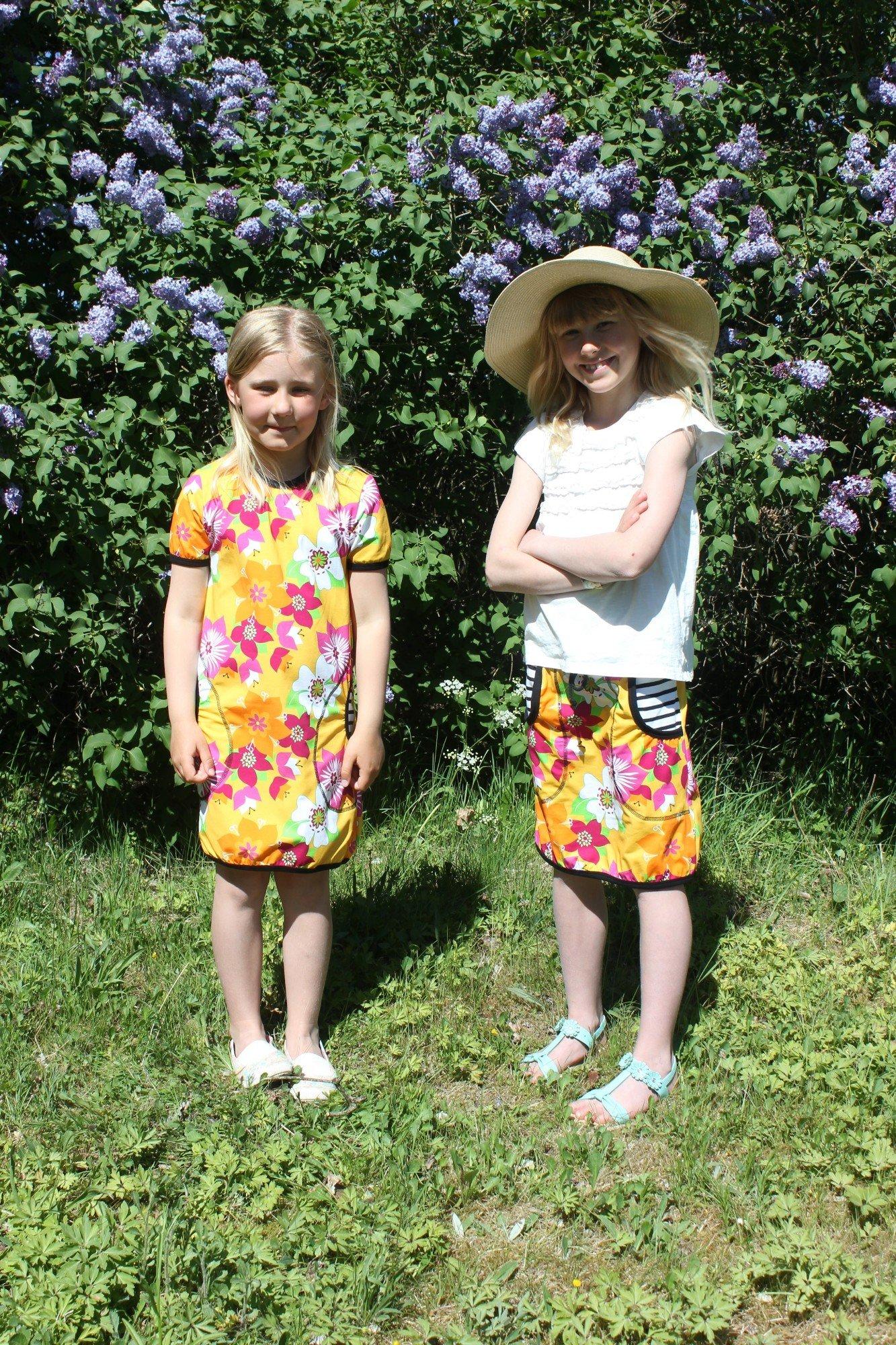 Barnklänning SOMMARSOL