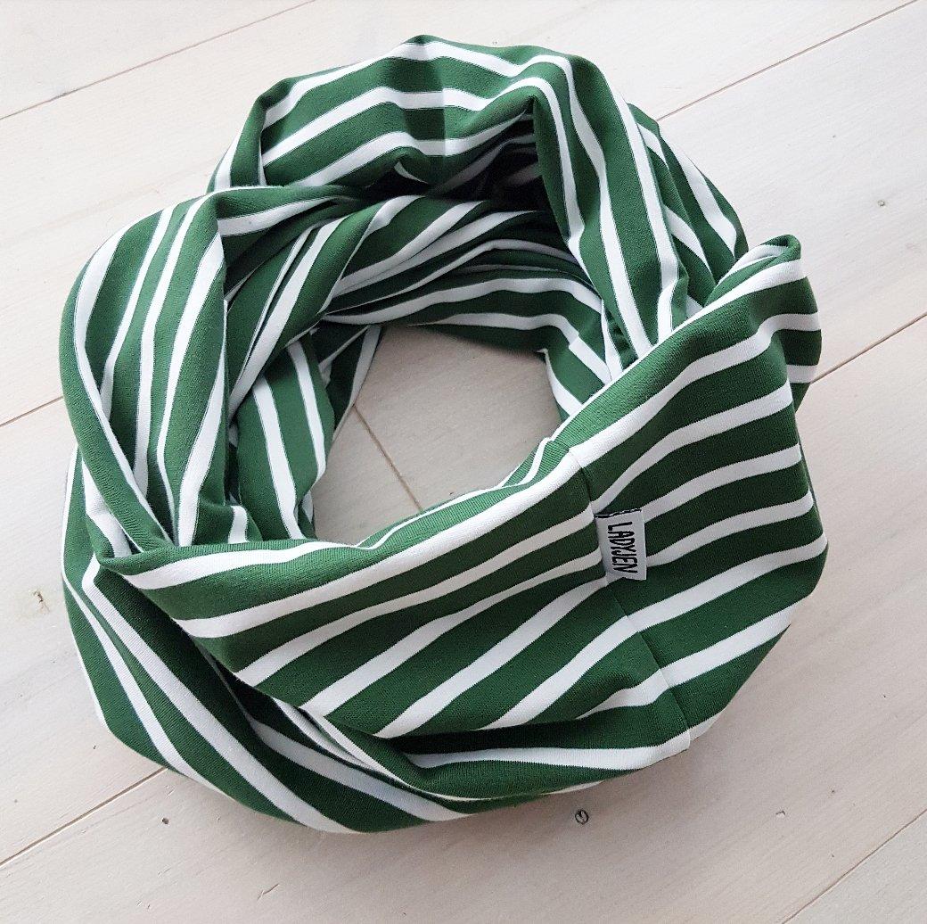 TUB RANDIG - Grön/vit