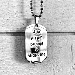 Jag gillar Bubbel & Shopping