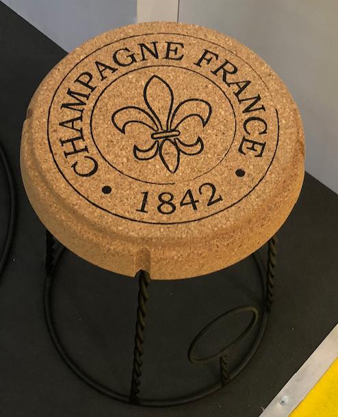 Champagne pall