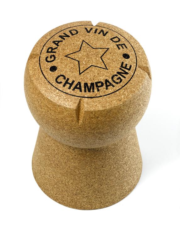 Gigantisk Champagnekork