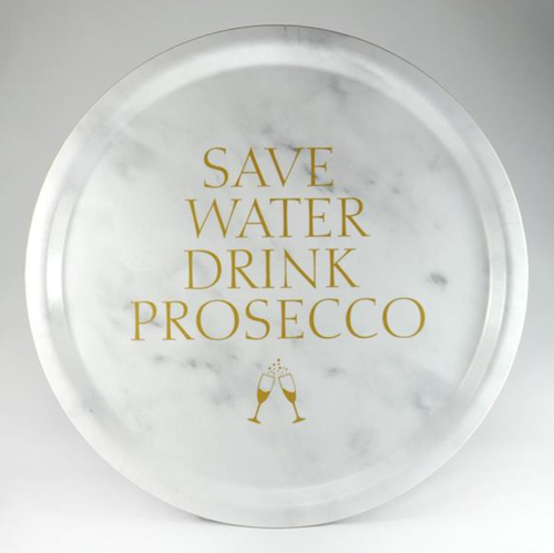 Bricka Save Water drink Prosecco