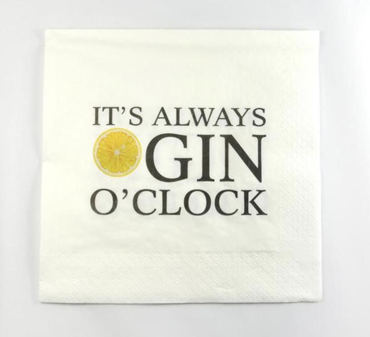 Servetter Gin O'Clock