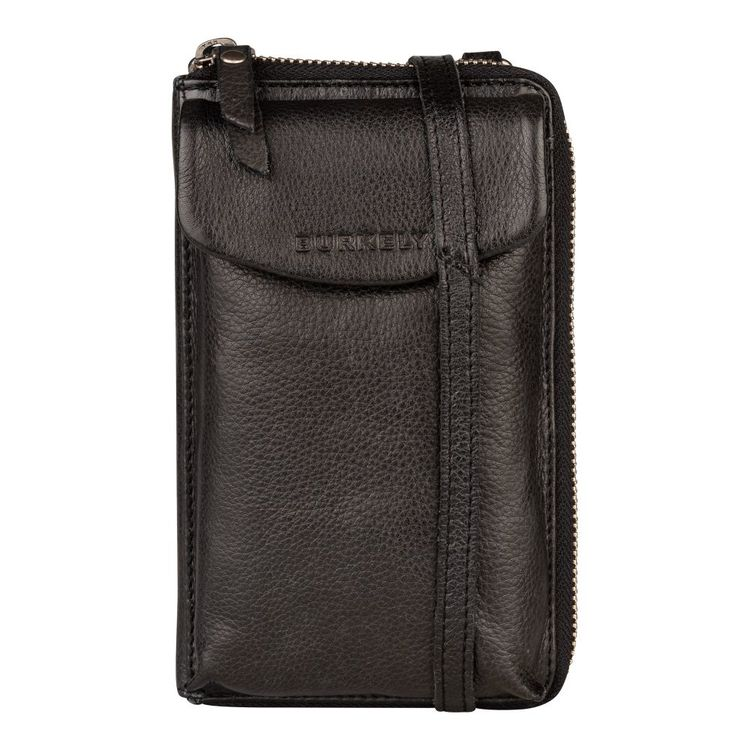 Burkely Just Jackie Phone Wallet Black
