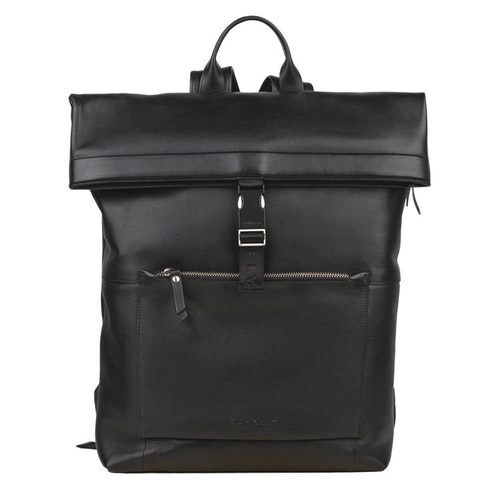 Burkely Suburb Seth Backpack Rolltop Black