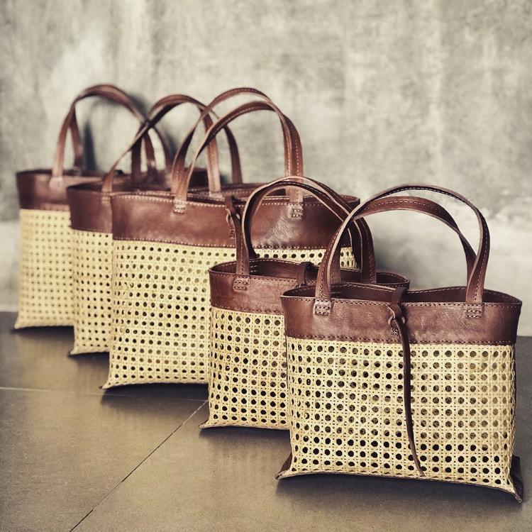 Alixtra Rotting Shopper Bag Brown