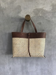 Alixtra Rotting Shopper Bag Brown