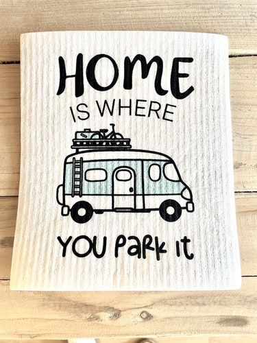 Disktrasa Home is where you park it- husbil