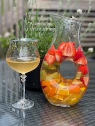 Vinkaraff i glas 2-pack