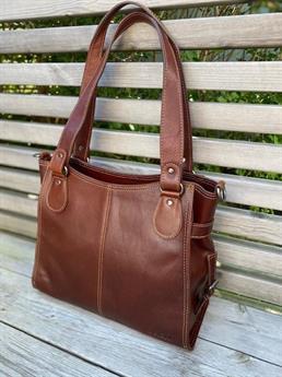 Biori laptop/shopper bag 5128 brun