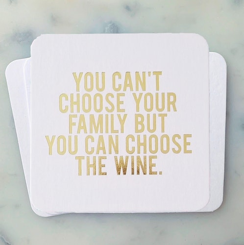You can choose the wine Coasters 4-pack