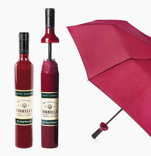 Burgundy Wine bottle Paraply